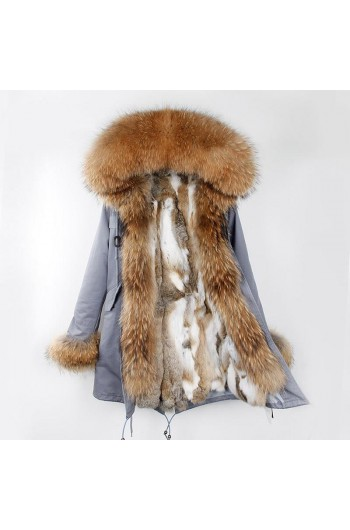 REAL FOX FUR EXLUSIVE PARKA - MODEL NR 2
