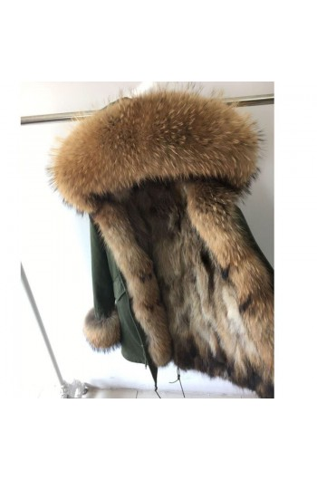 REAL FOX FUR EXLUSIVE PARKA - MODEL NR 5