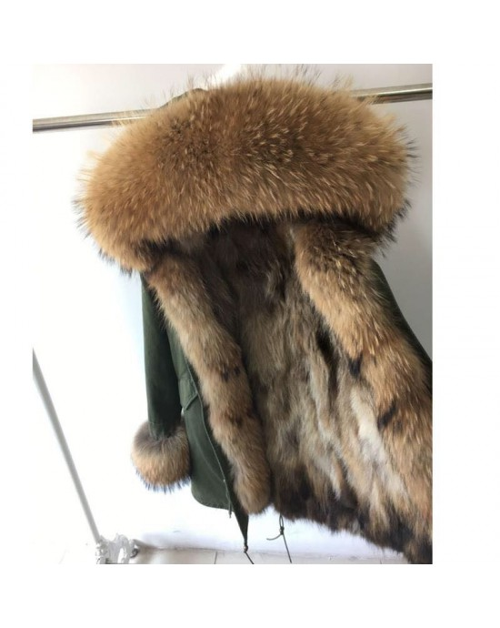 REAL FOX FUR EXLUSIVE PARKA - MODEL NR 4