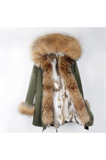 REAL FOX FUR EXLUSIVE PARKA - MODEL NR 7