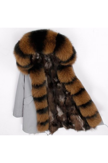 REAL FOX FUR EXLUSIVE PARKA - MODEL NR 10