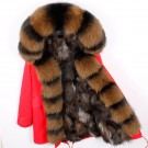 REAL FOX FUR EXLUSIVE PARKA - MODEL NR 12