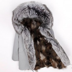 REAL FOX FUR EXLUSIVE PARKA - MODEL NR 14