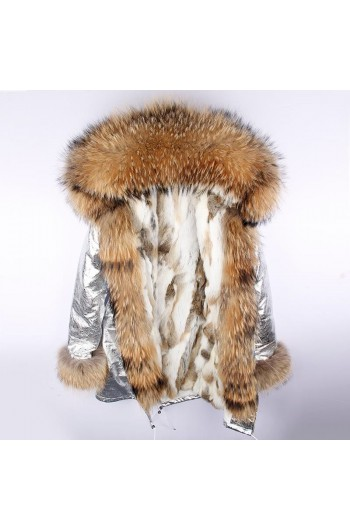 REAL FOX FUR EXLUSIVE PARKA - MODEL NR 18