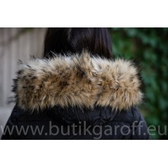 WINTER JACKET GAROFF - MODEL 1582 BLACK