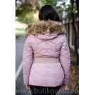 WINTER JACKET GAROFF - MODEL 1801 PINK