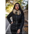 WINTER JACKET GAROFF - MODEL 1851 BLACK