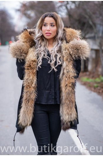 REAL Racoon Fur Exclusive Parka - MODEL NR 3