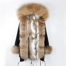 REAL FOX FUR EXLUSIVE PARKA - MODEL NR 1