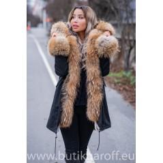 REAL FOX FUR EXLUSIVE PARKA - MODEL NR 1