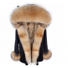 REAL RACOON FUR EXLUSIVE PARKA - MODEL NR 3