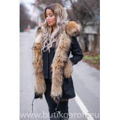 REAL FOX FUR EXLUSIVE PARKA - MODEL NR 3