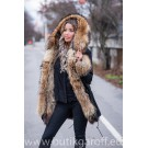 REAL FOX FUR EXLUSIVE PARKA - MODEL NR 3