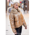 SHORT GOLD DOWN JACKET HOT MODEL 2019