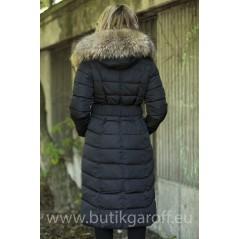 Lång vinterjacka  svart