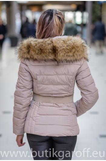 Vinter jacka GAROFF - MODEL 1582 beige