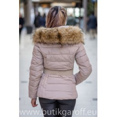 Vinter jacka GAROFF - MODEL 1582 beige