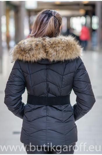 Vinter jacka GAROFF - MODEL 1801 svart