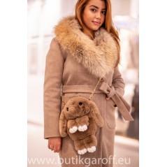 Rabbit bag and backpack - dark brown