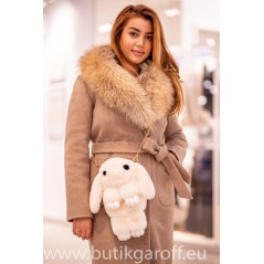 Rabbit bag and backpack - light beige