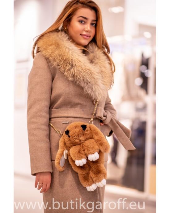 Kanin våska, ryggsäck  - brun