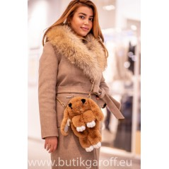 Rabbit bag and backpack - brown