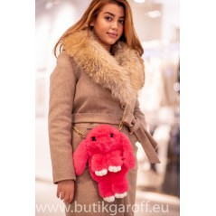 Rabbit bag and backpack - raspberry