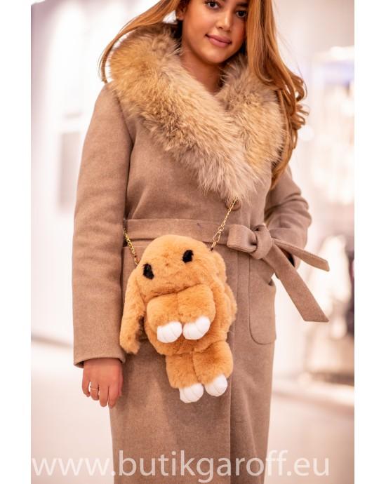 Kanin våska, ryggsäck  - ljusbrun