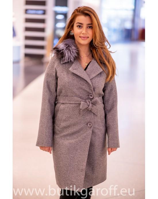 Wool Kappa -  model nr 14 grå