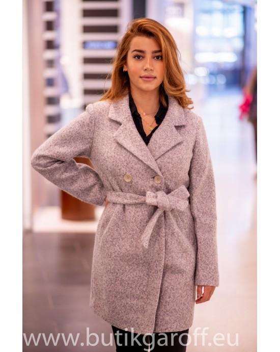 Wool Kappa -  model 9991 grå