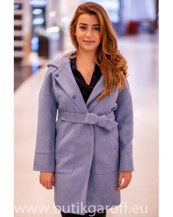 Wool Kappa -  model 9953 blå