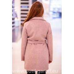 Wool Kappa -  model 9939 ljusrosa