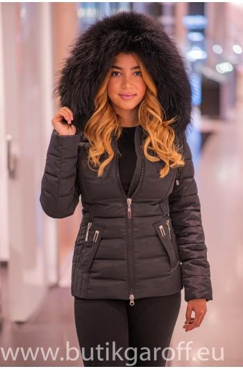 Black winter jacket Garoff...