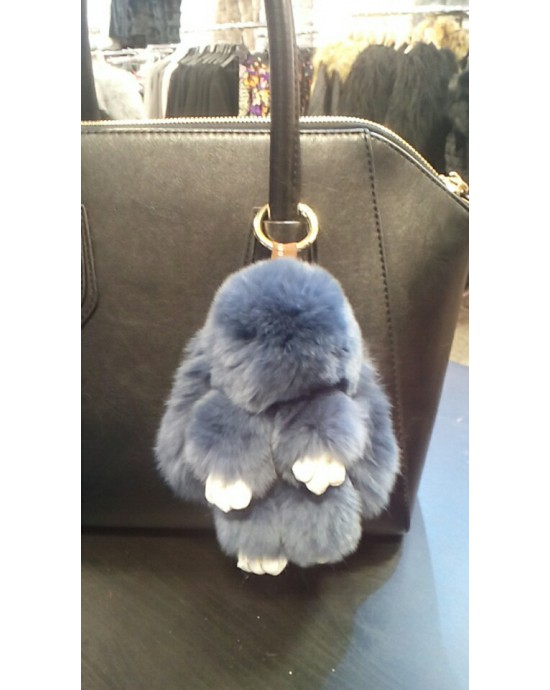 Rabbit pendant - white