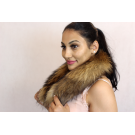 BIG REAL FUR RACCOON COLLAR