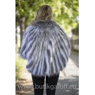 PONCHO REAL FOX FUR - MODEL 8