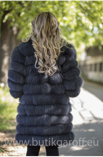 Real Fur Jacket 4 in 1 - GRAPHITE