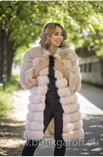 Real Fur Jacket 4 in 1 - LIGHT BEIGE