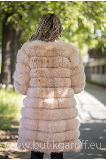 Real Fur Jacket 4 in 1 - LIGHT BEIGE