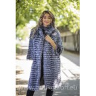 Real Fox fur coat - GREY