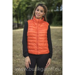 REAL DOWN VEST - ORANGE