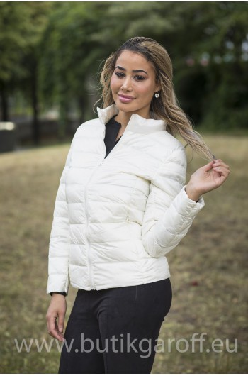 REAL DOWN JACKET- WHITE 100%
