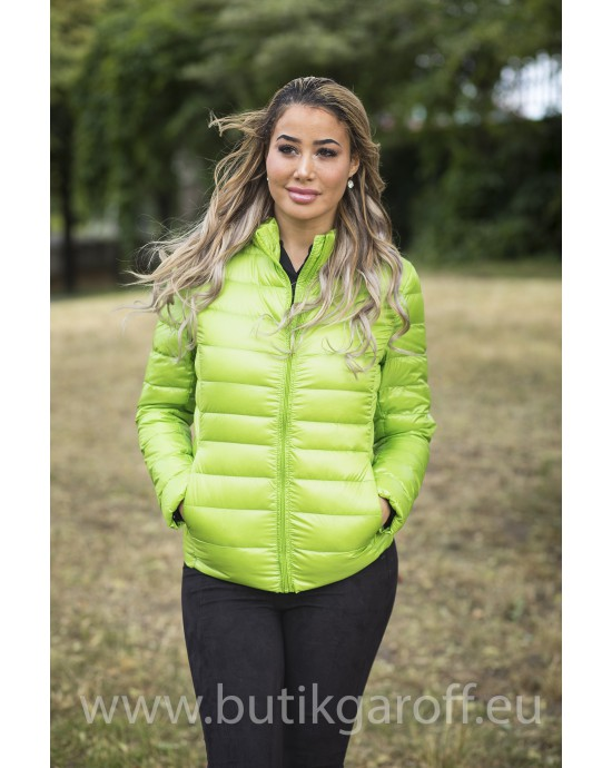REAL DOWN JACKET- LIGHT GREEN 100%
