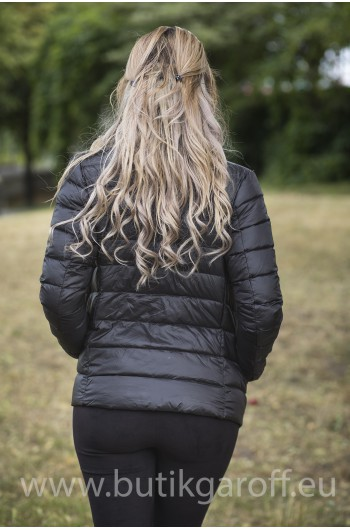 REAL DOWN JACKET- BLACK 100%