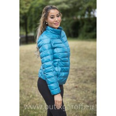 REAL DOWN JACKET- BLUE 100%